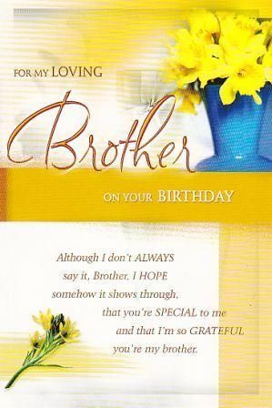 Birthday Cards For Brother Images And Pictures Happy Birthday