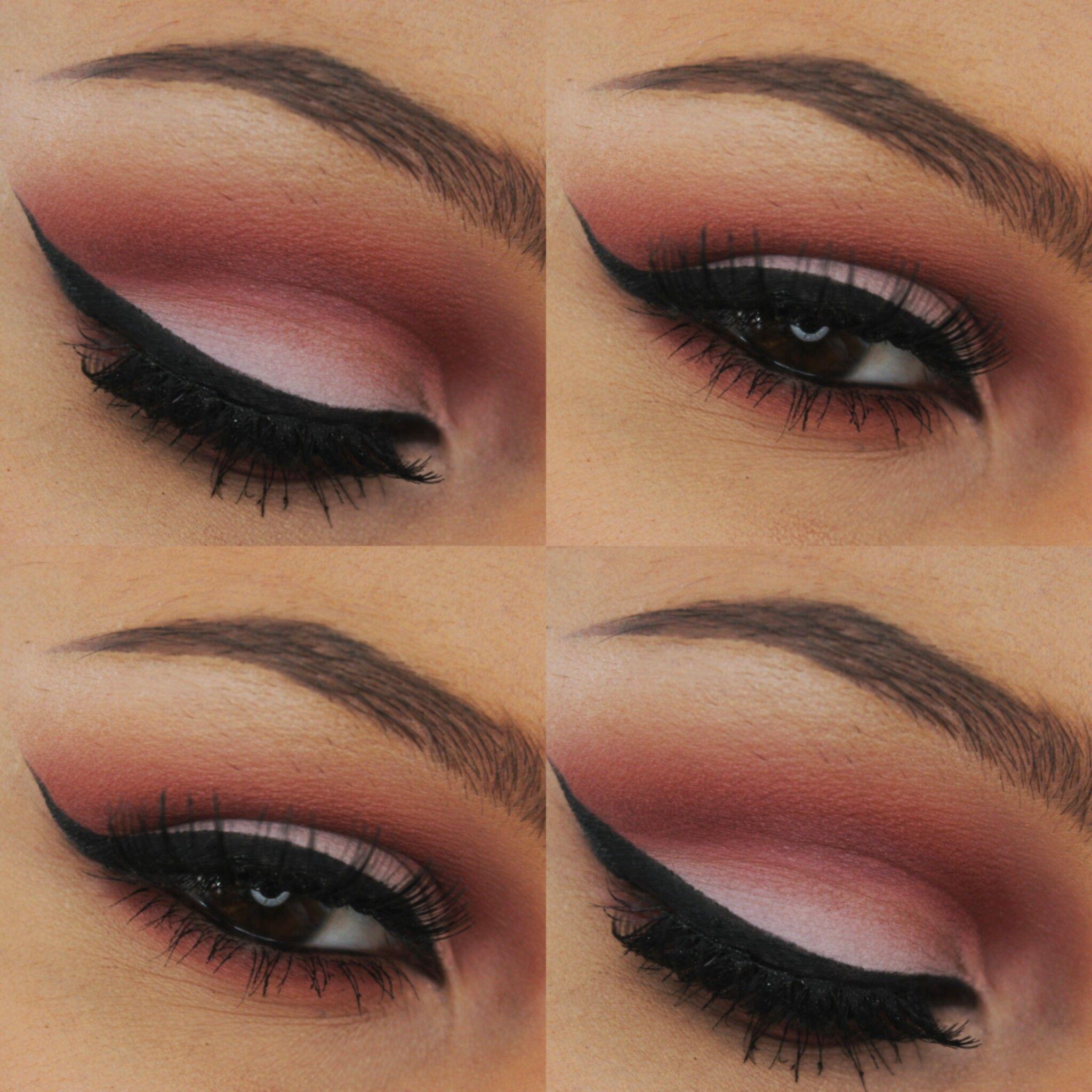 For this eyeshadow look I used Makeupgeek Makeup geek
