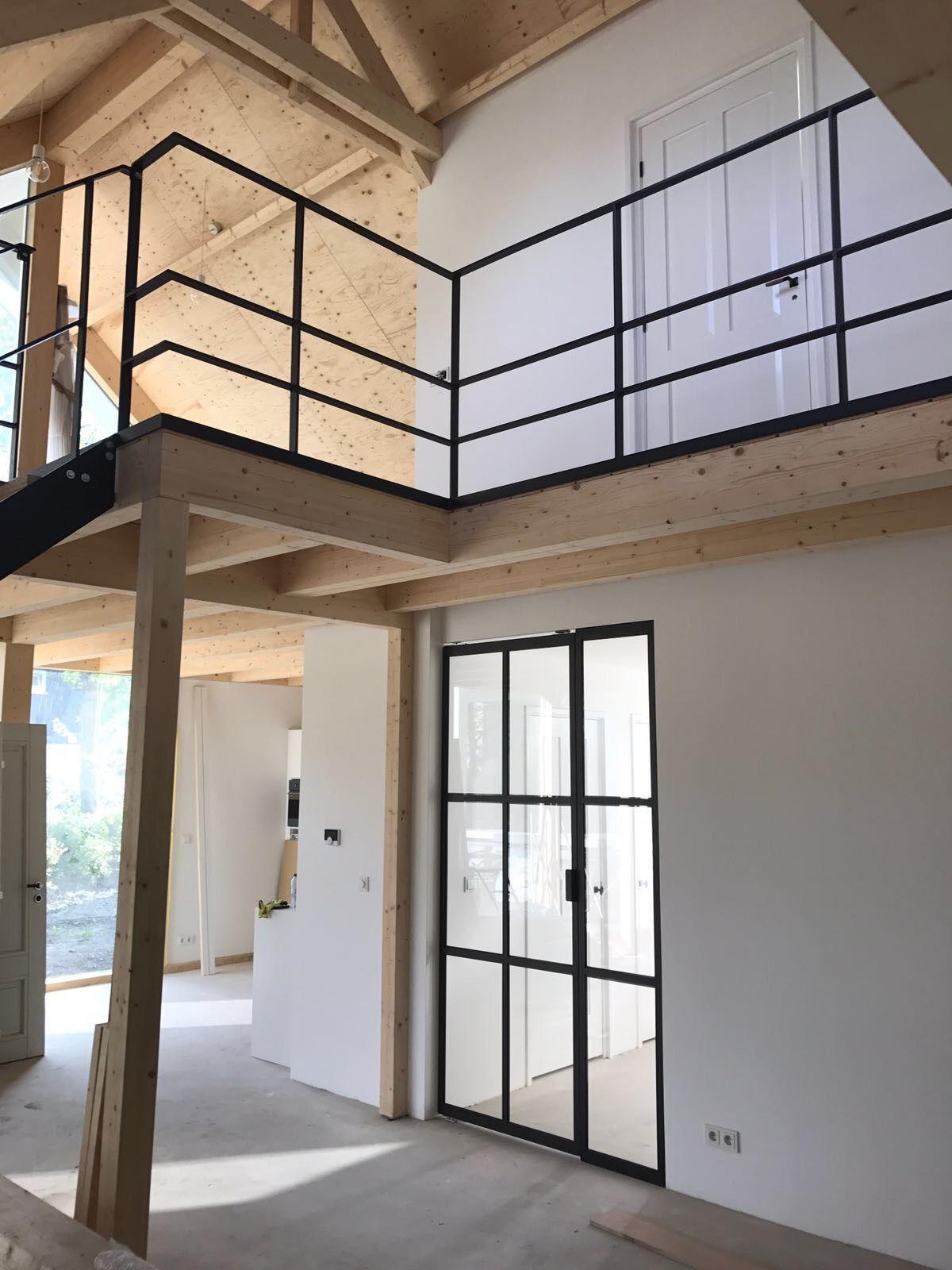 Schuurwoning Finnhouse 3760 te Kamperland Interieur P&B systeem met ...