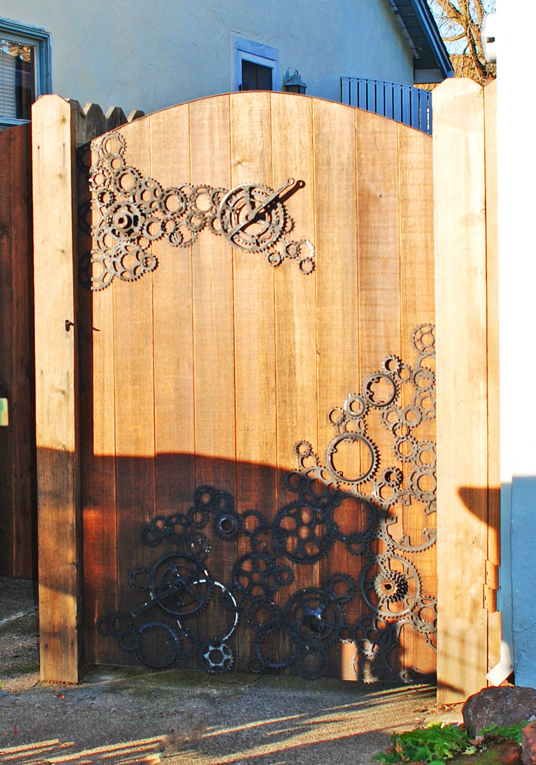 Recycled Gate | My own creations | Pinterest | Gate, Fences and Yards