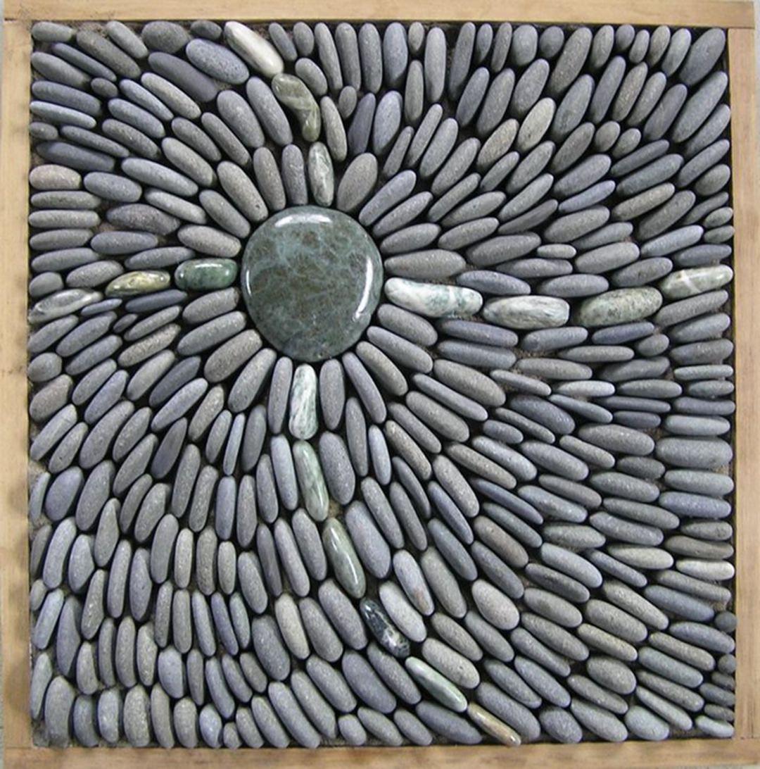 Beautify Your Landscape With Awesome Pebble Mosaic Ideas (35 Top Pictures)