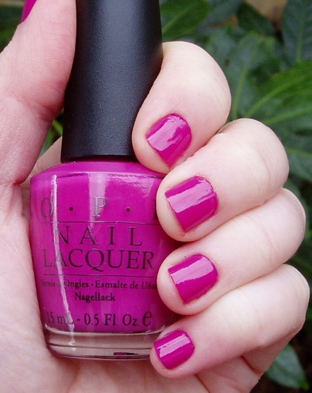 OPI Ate Berries in the Canaries: rated 4.8 out of 5 by MakeupAlley ...