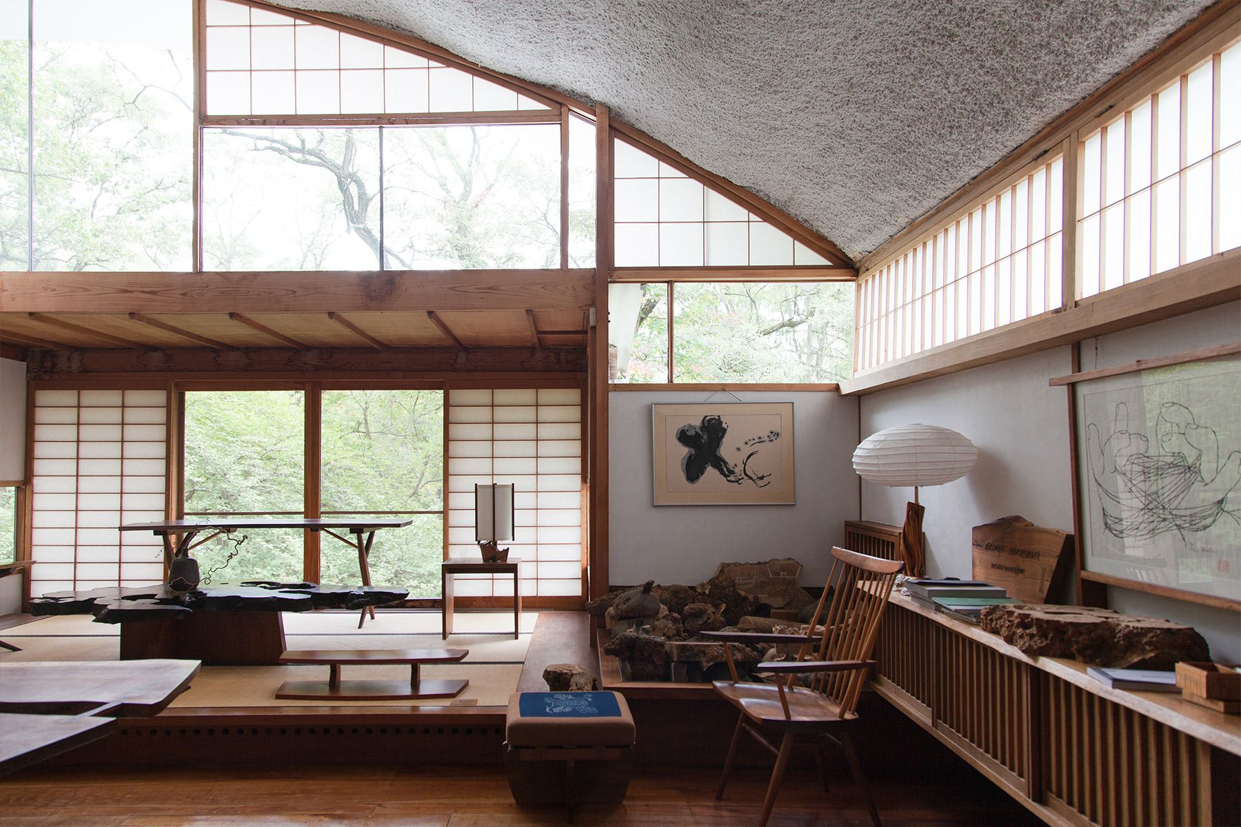 Into the Woods Nakashima Garden and Studio