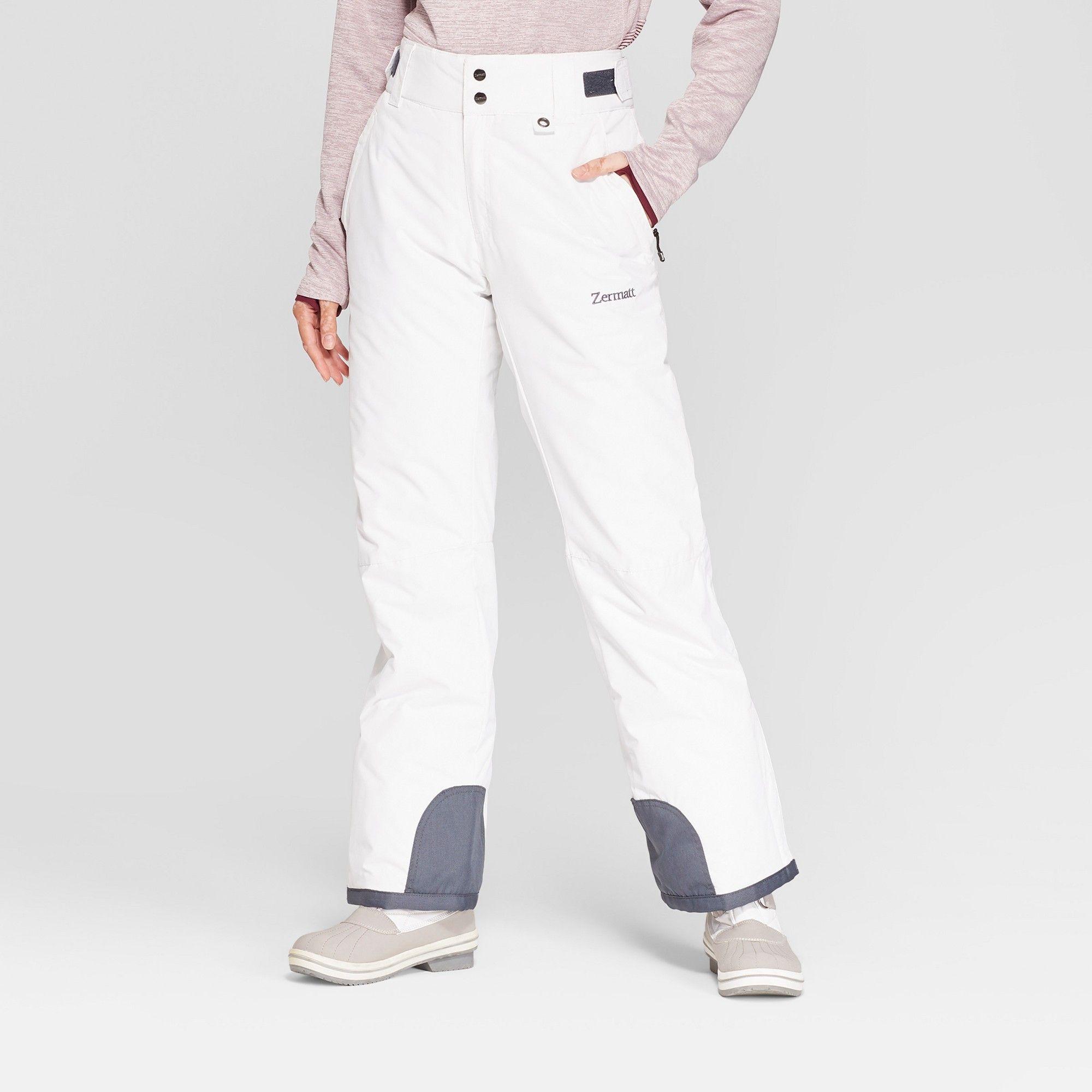 9933e2c6f1bb Women s Snow Pants - Zermatt White XL