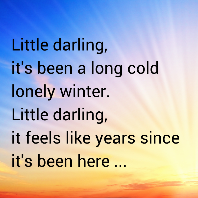 Find out what song these lyrics are from: http://tips.how2improvesinging.com/lyrics-week-2014/