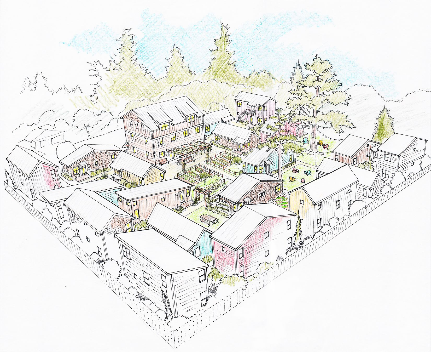 Incredible This Is The Design For The First Micro Community From A Download Free Architecture Designs Scobabritishbridgeorg