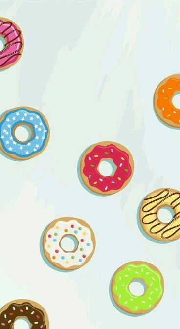 Inspiring Image Cute Donuts Fondo Fondos Food By Bobbym