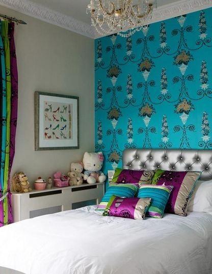 Яркие обои для квартиры. 50 вариантов | Quartos