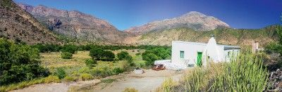One of Cape Nature's cottages in the Swartberg Nature Reserve.