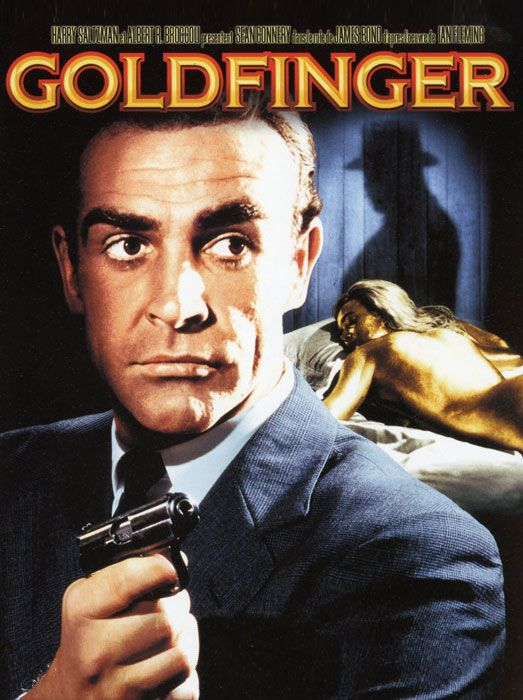 Goldfinger James Bond Jamesbond Com Imagens James Bond