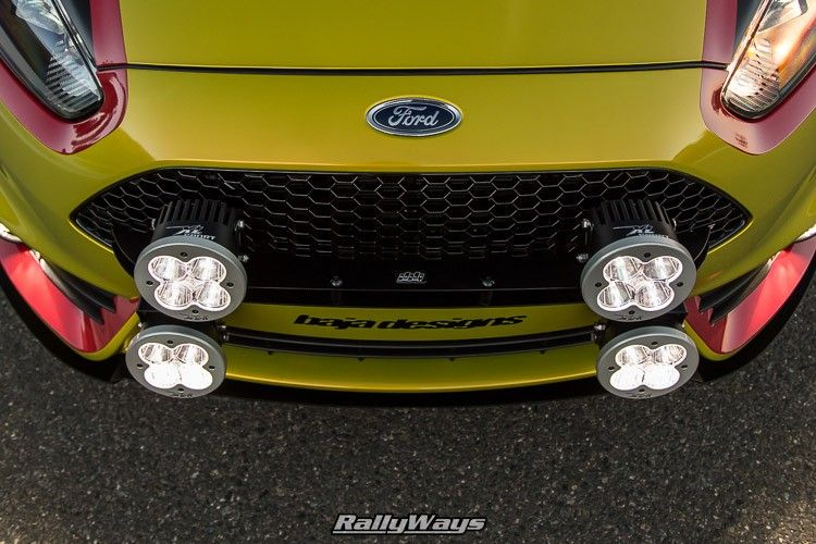 RallyFist Featured by COBB Tuning at SEMA Ford fiesta