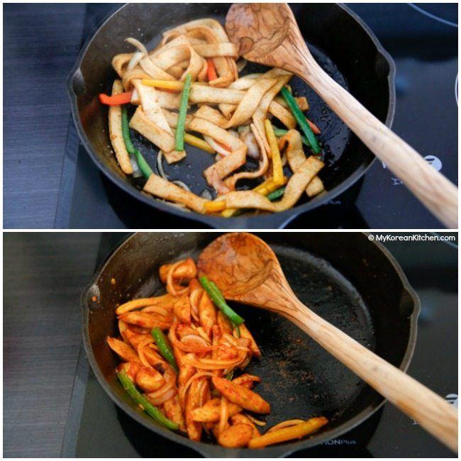 Korean Fish Cake Side Dish Recipe Fish Cake Korean Fish Cake Korean Side Dishes