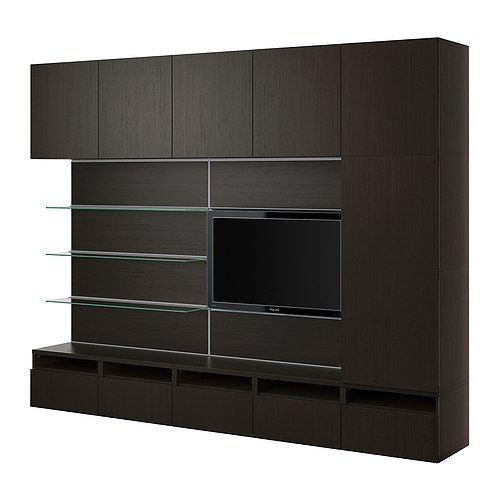 best framst tv kombination schwarzbraun ikea aussortiert pinterest aussortieren. Black Bedroom Furniture Sets. Home Design Ideas