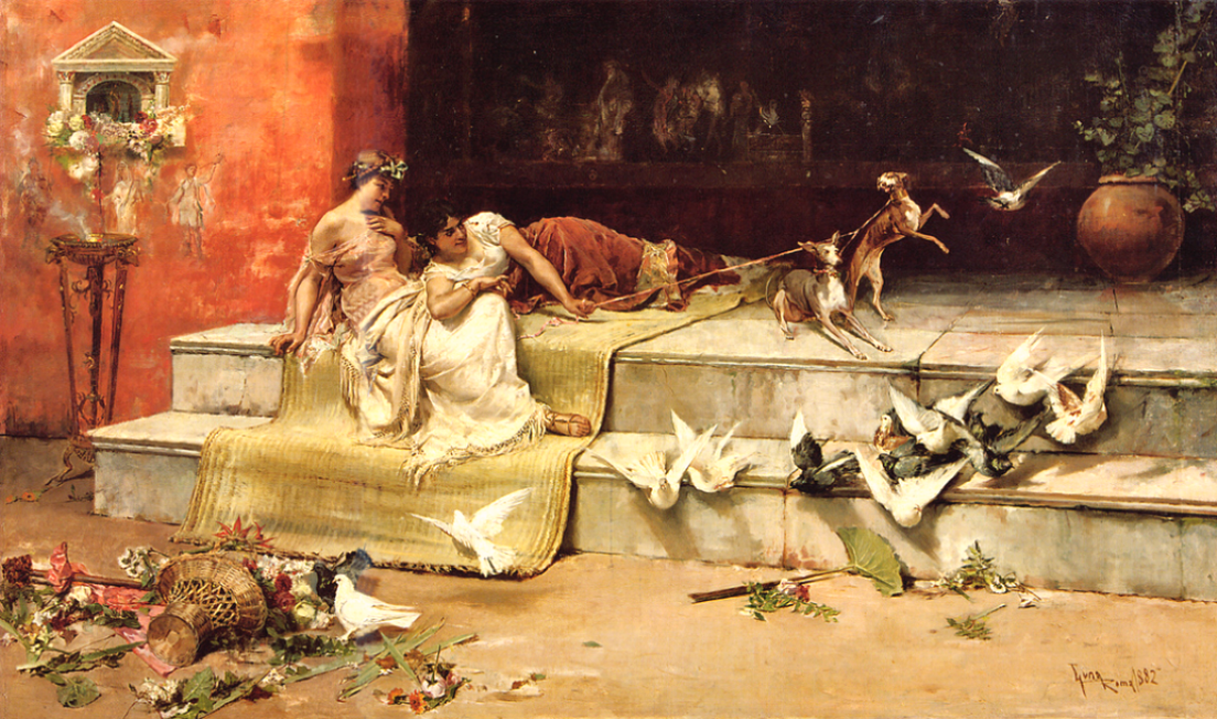 Luna, Juan (b,1857)- Roman Maidens, 1882 -2a