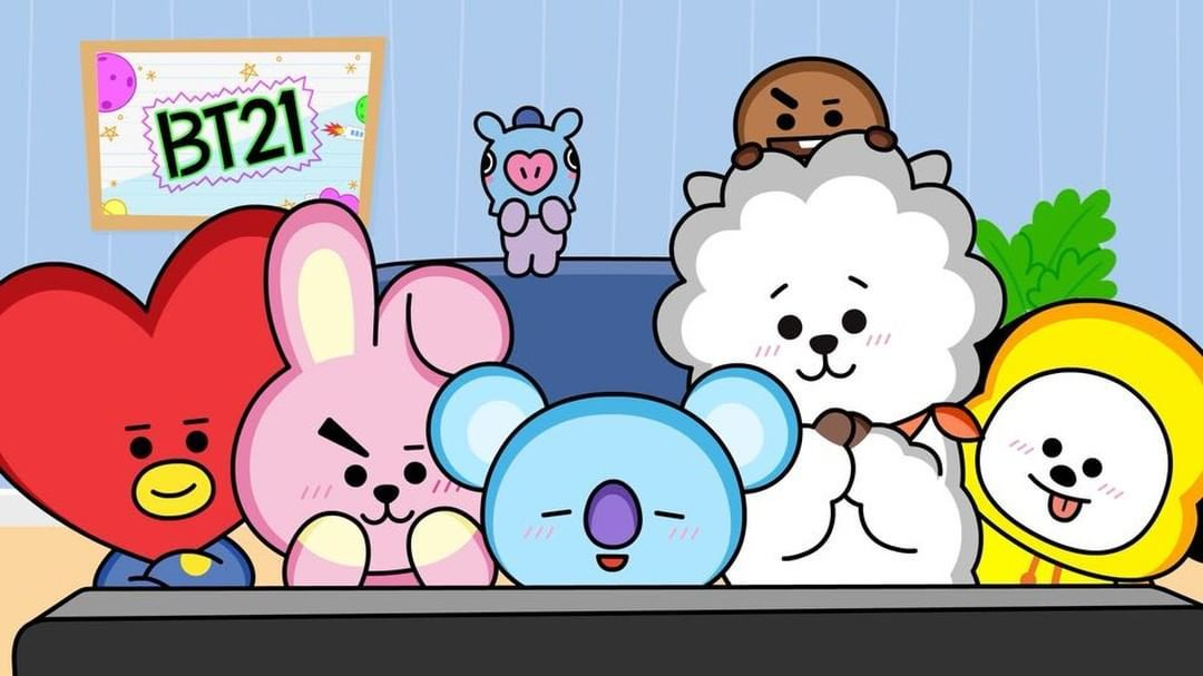 Trained Long And Hard For This Day Bt21 Hotdebut Kartu Lucu Wallpaper Lucu Seni