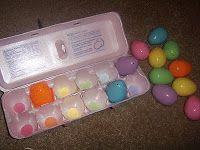 Egg Carton Matching Activity