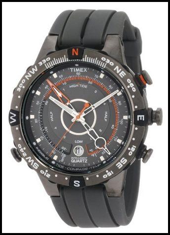 timex men s t49860 intelligent quartz adventure series tide temp timex men s t49860 intelligent quartz adventure series tide temp compass gray silicone strap watch