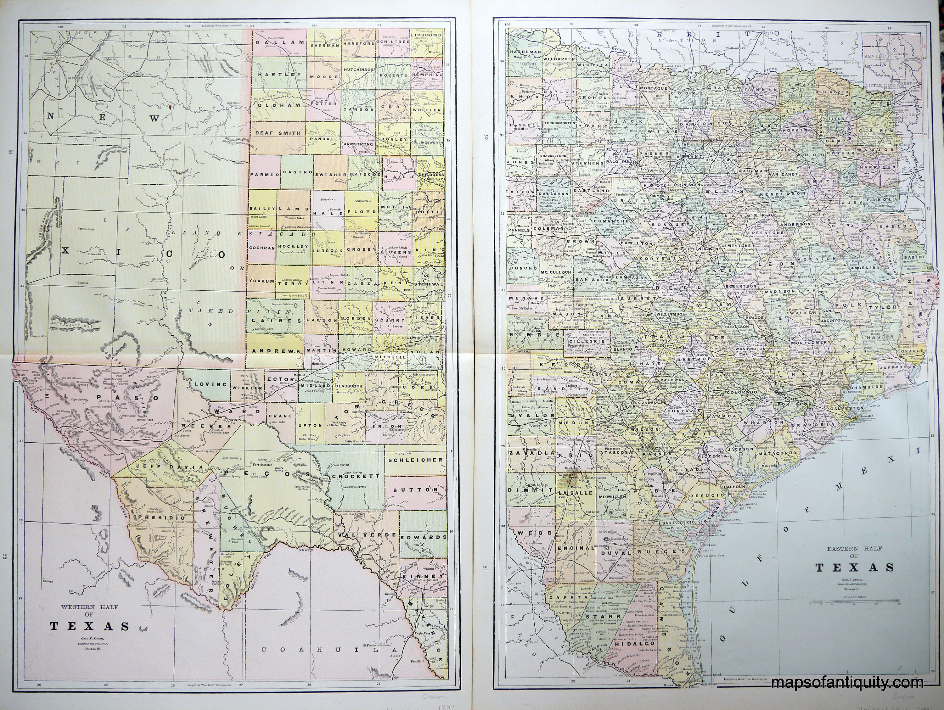 1890 Map to Illustrate the Colonies and