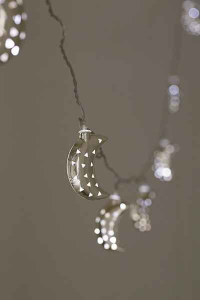 crescent moon string lights awesome stuff spaces and stuffing