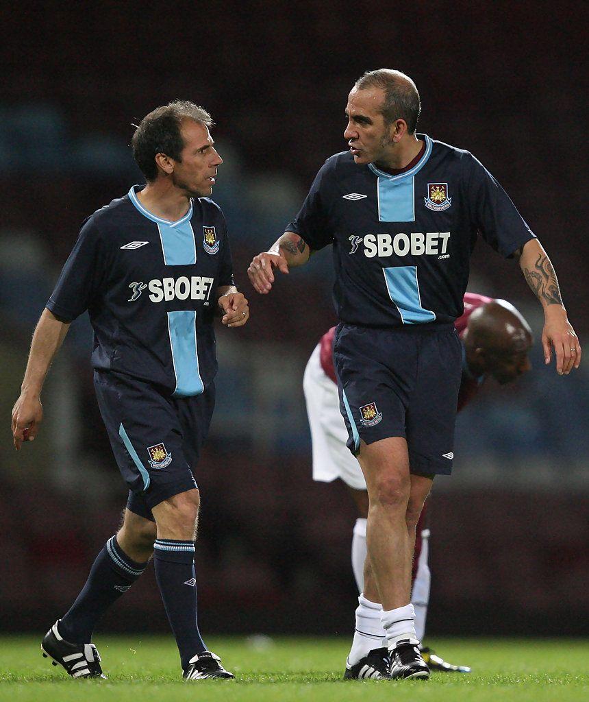 Gianfranco Zola & Paolo Di Canio - West Ham United