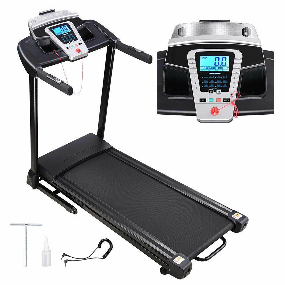 Ad Ebay 2 25hp Folding Electric Treadmill Motorized Running