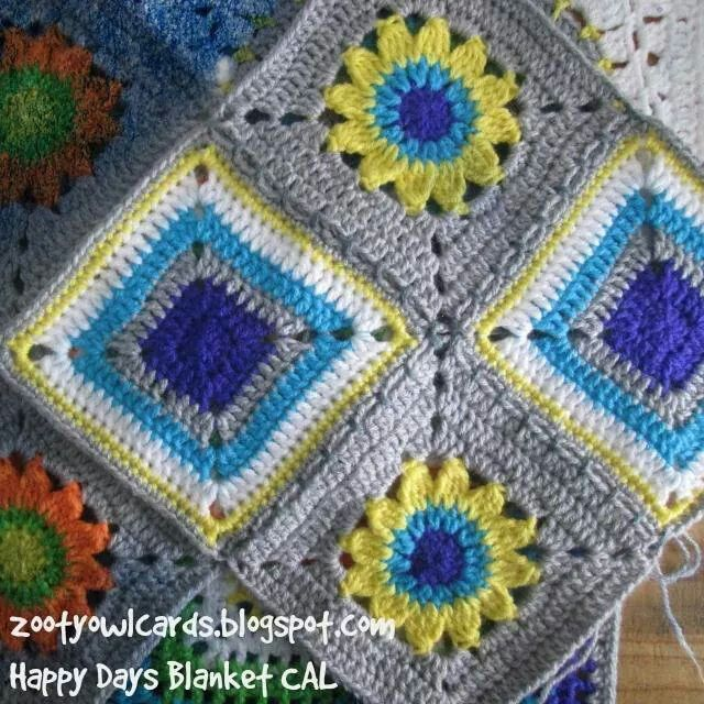 Happy Days crochet a long | Lanas | Pinterest | Lana