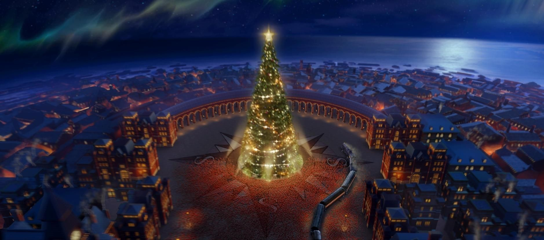 A young boy embarks on a magical adventure to the north pole on the polar express description - Polar express hd ...