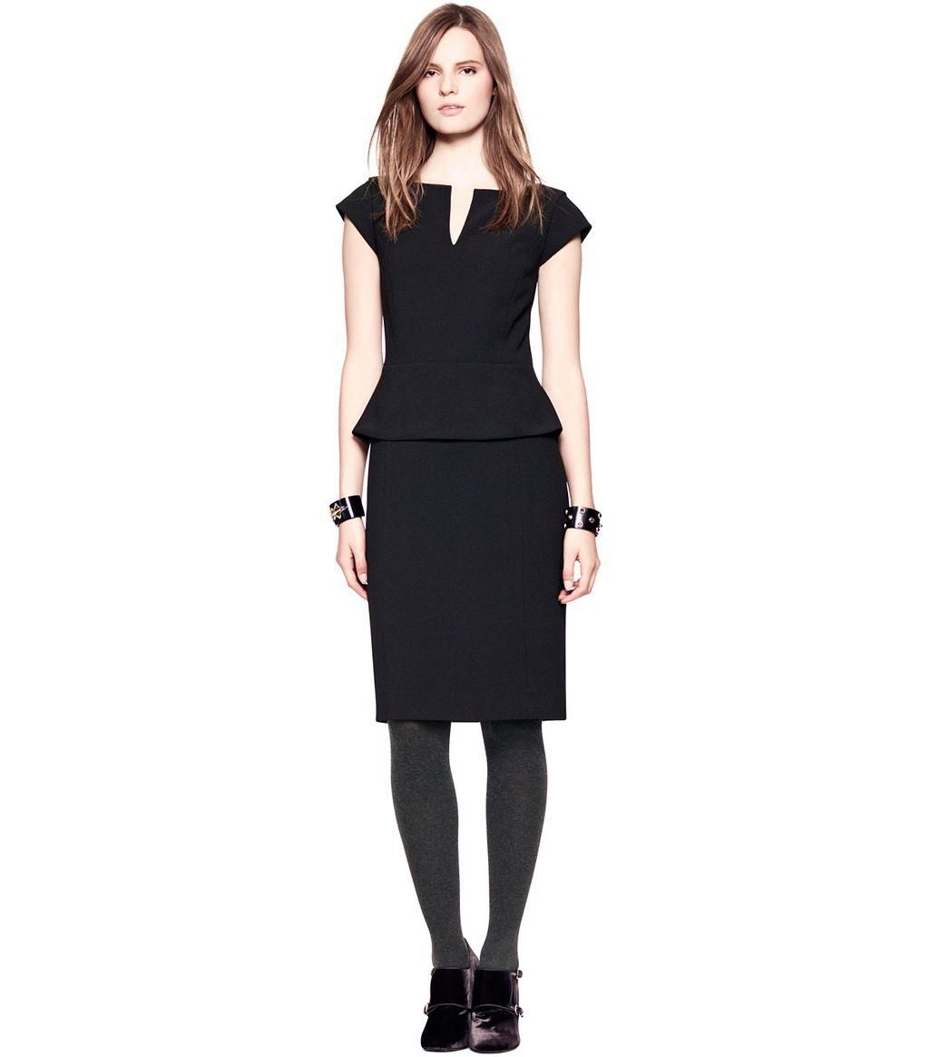 Tory burch dress in black fashion ideas pinterest clothes