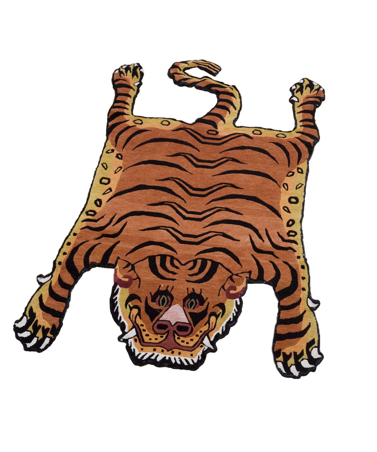 Tibetan Tiger (love Its Cartoonish Look) * Where I Stand