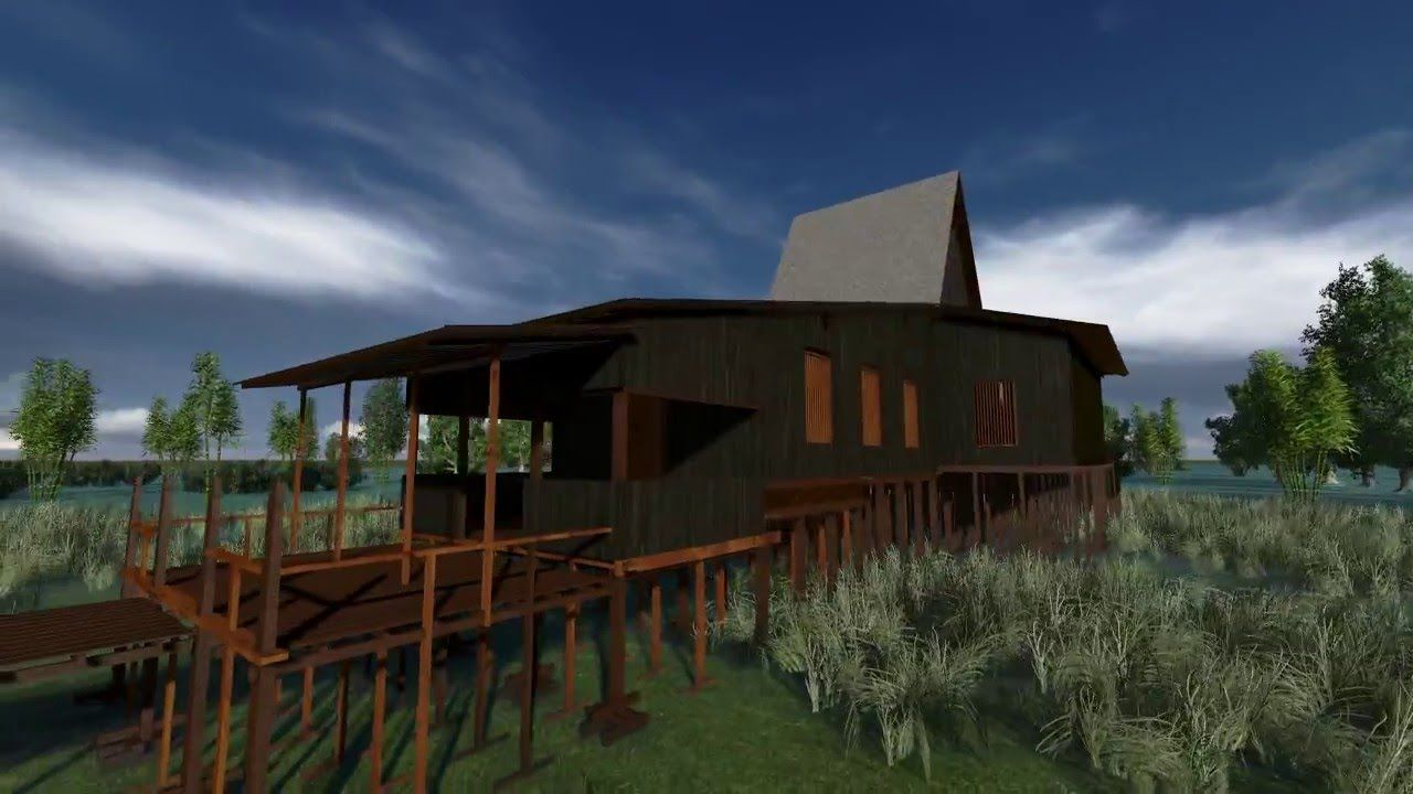 Gambar Rumah Adat Banjar