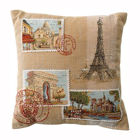 Paris Home Decor On French Pillows Postcard Decorative Pillow Previous