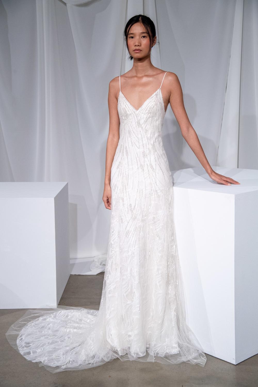 Amsale Bridal Fall 2020 Fashion Show In 2020 Amsale Bridal
