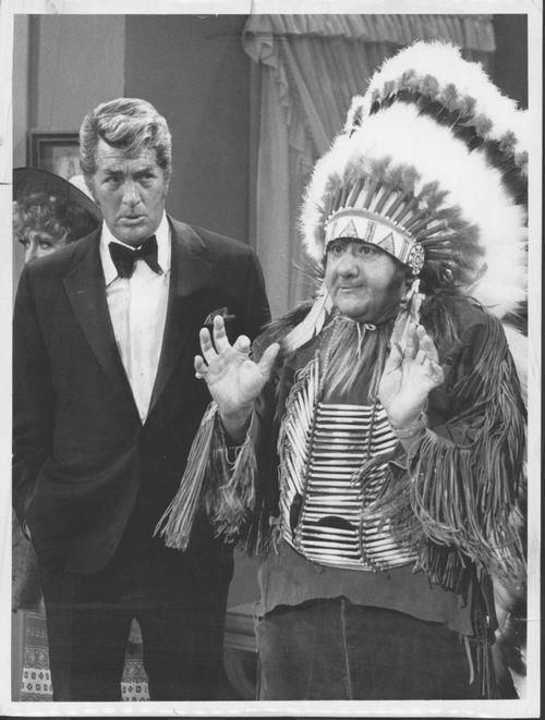 Dean Martin And Buddy Hackett on set of Deans show. Hackett was such a funny man with such a funny (speech) accent. This scene was just hilarious. - UPLOAD by: Michel Reno