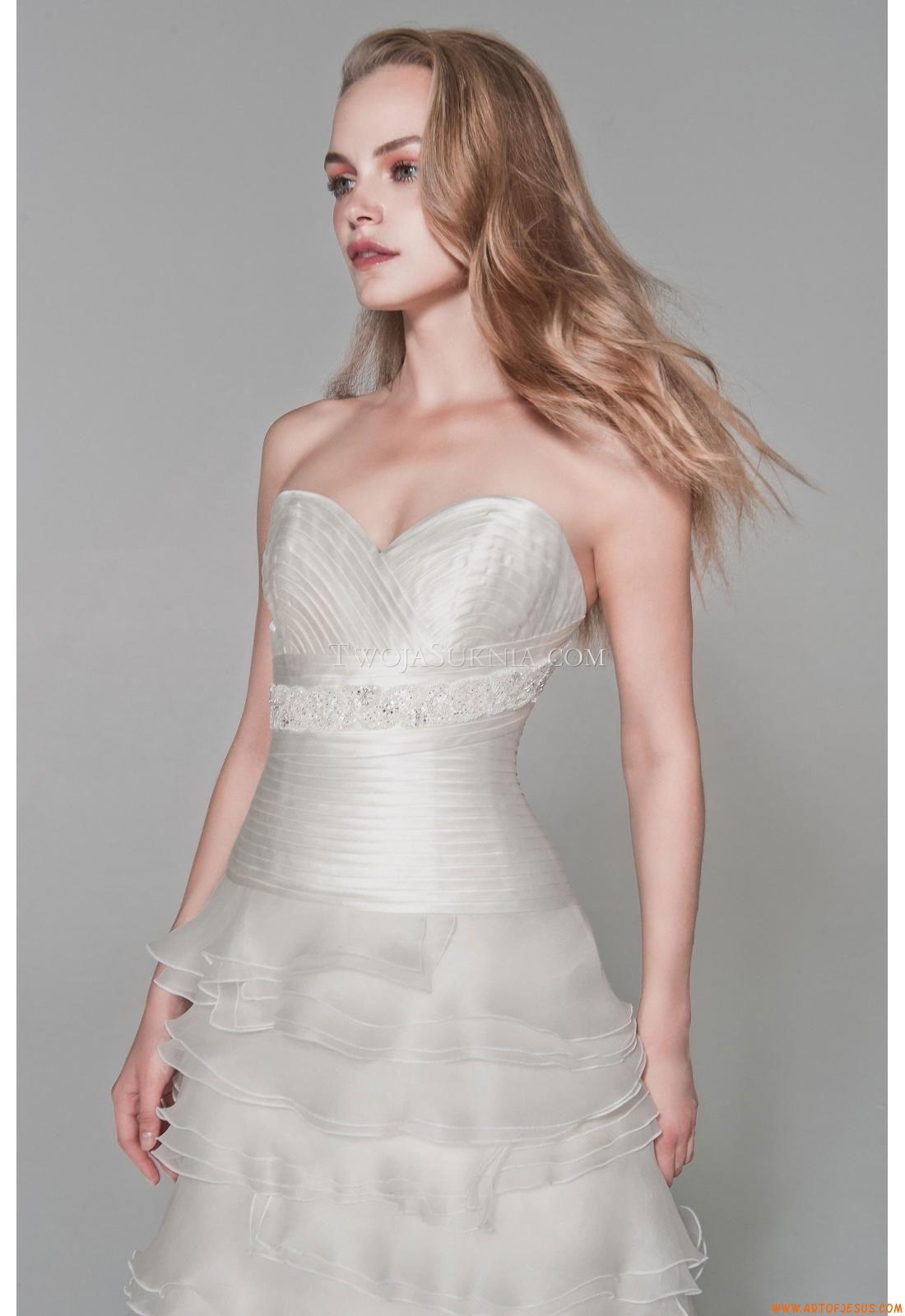 Maßgeschneiderte Romantische Traumhafte Brautkleider aus Organza mit ...