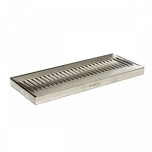 Stainless Steel Drip Tray Surface Mount 12 X 5 No Drain Surface Mount Beer Surface Mount Beer Drain Tray Steel Drip Stainless Drip Tray Steel Tray