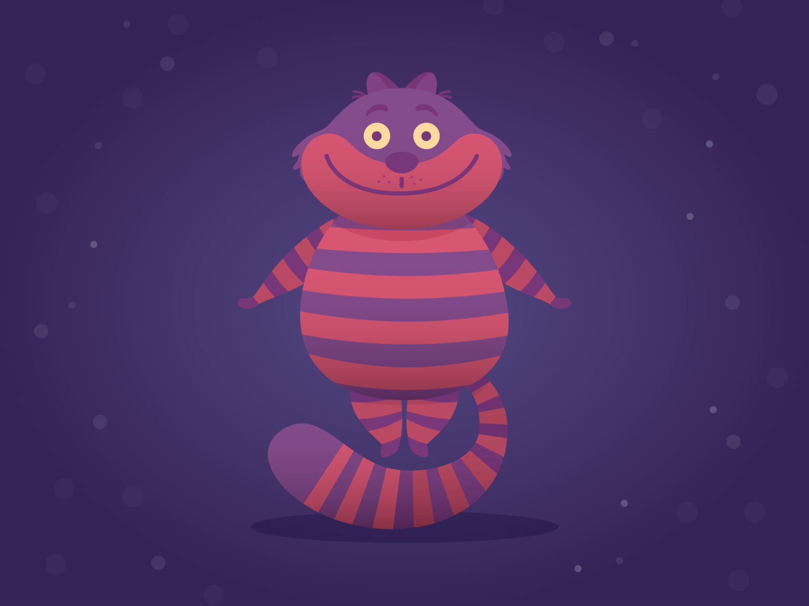 Cheshire Cat Fan Art in 2020 Cheshire cat art, Art