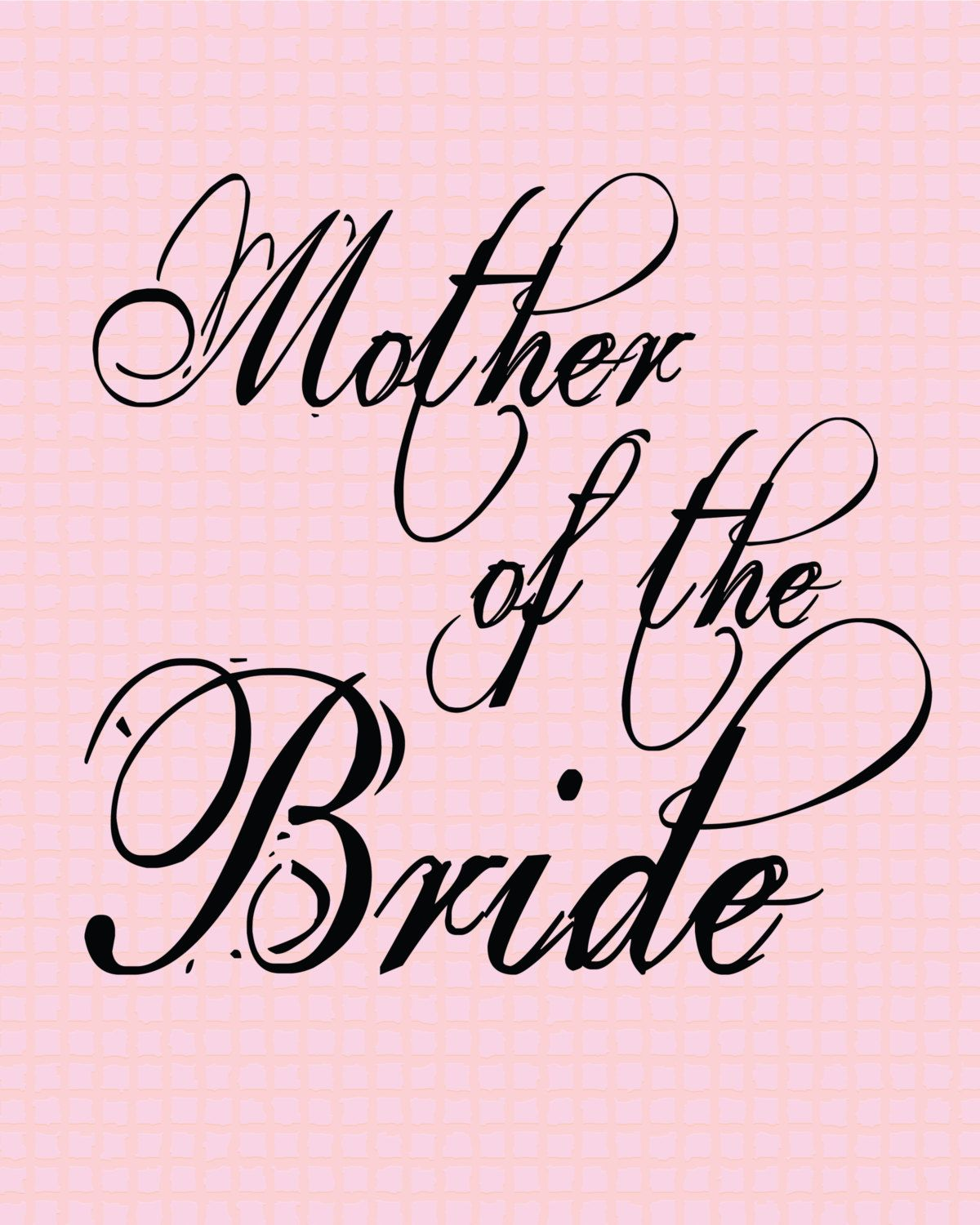 Mother of the Bride Clip Art