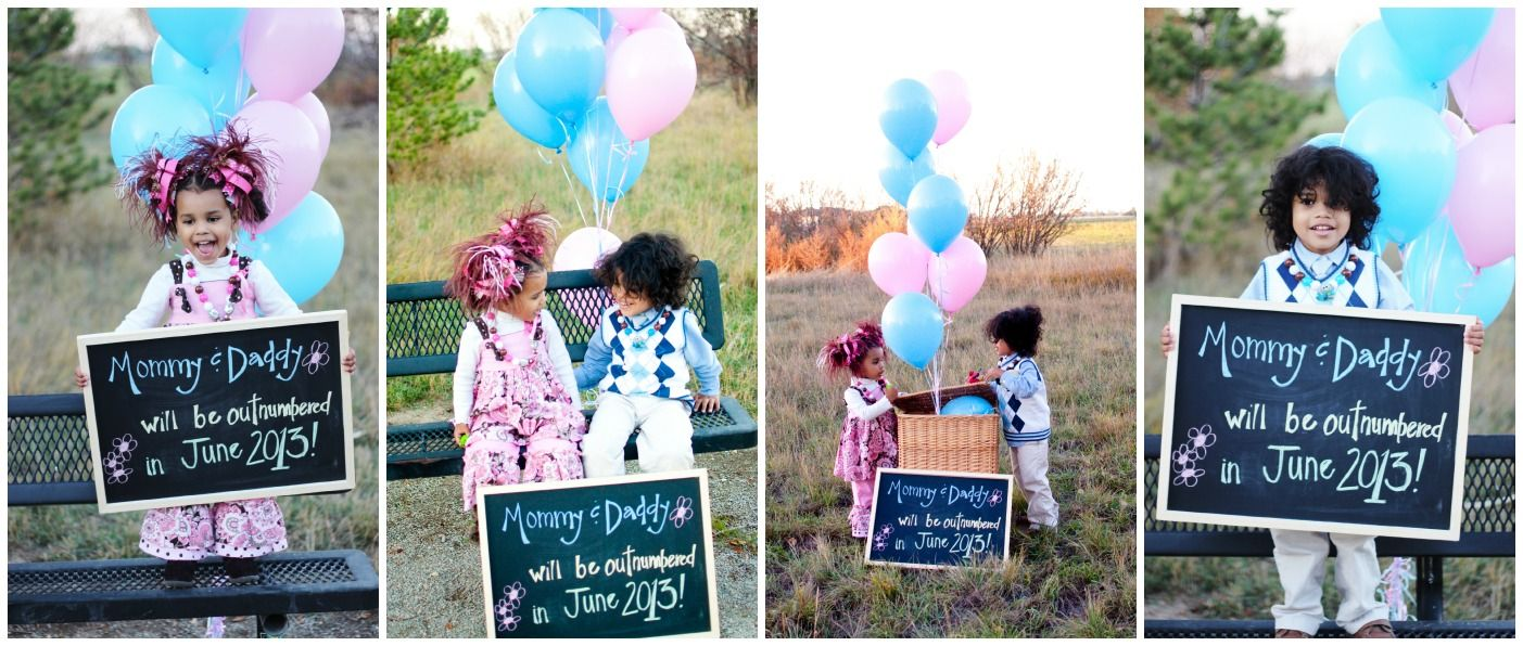 cute idea for sibling announcement but I like it for a