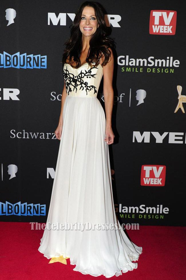 Esther Anderson Evening Dress 2012 Logies Awards Red Carpet | Red ...