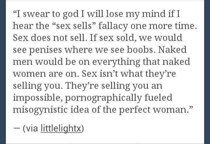 women do not equal sex sex doesn t sell sexism sells feminism women do not equal sex sex doesn t sell sexism sells