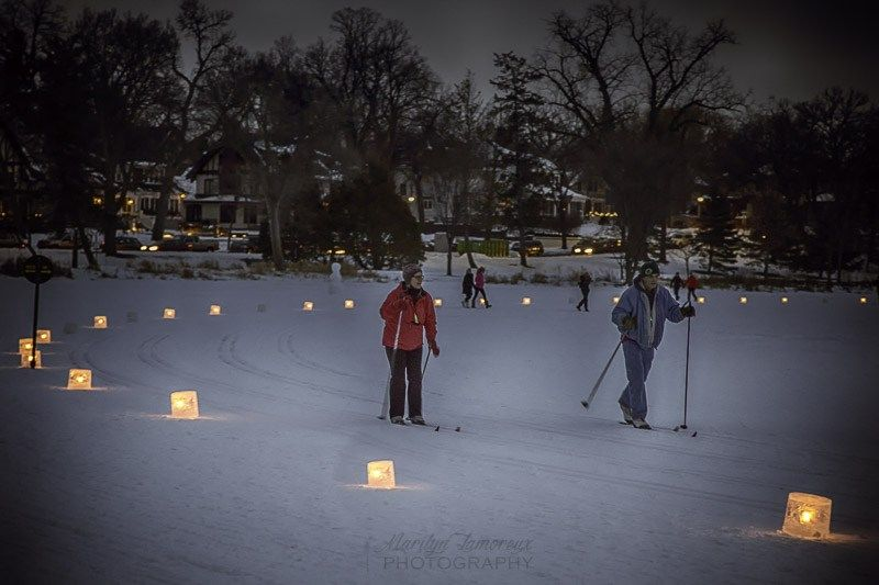 Last Night Was The City Of Lakes Luminary Loppet Lit By Over 1200