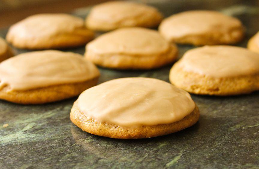 Chai-iced Pumpkin Cookies
