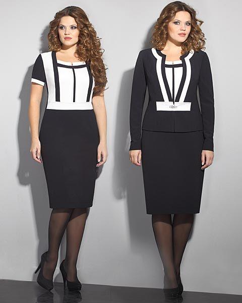 купить красивые деловые платья и костюмы