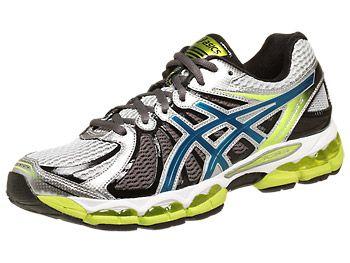Asics Gel Nimbus 15 Men's Shoes LightningBlueLime