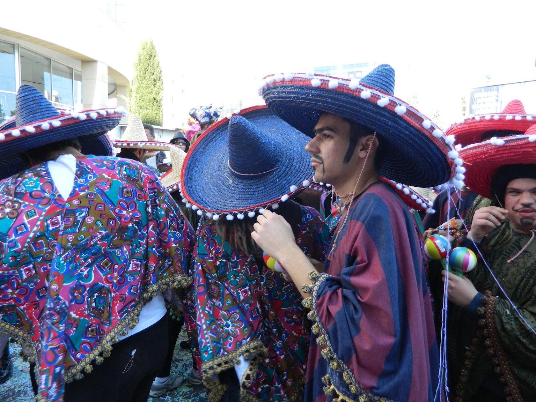 Carnival 2012 in Cyprus