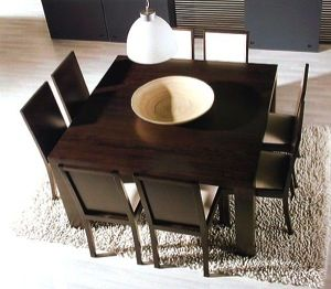 Mesa Comedor Cuadrada Square Dining Tables Dining Table Furniture