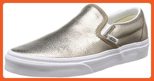 6da86994a3833 Vans Mens Classic Slip-On (Metallic) Bronze VN-0UC44EX 8.5 - Loafers ...