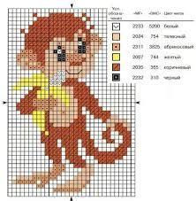 Картинки по запросу вышивка к году обезьяны | Узоры для ...