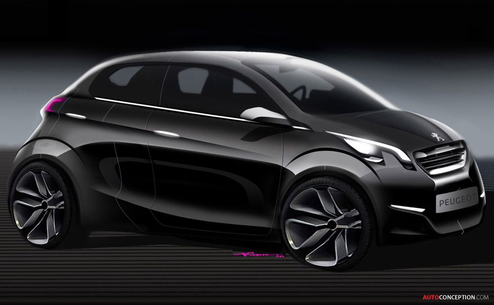Peugeot 108 Car Design Sketch Truck Design Automotive Design