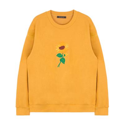 Embroidered Sunflower Sweater \u2013 shopglare